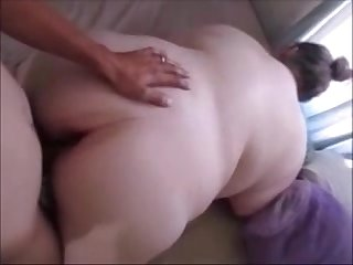 Big fat bitch gets pussy fucked doggystyle hard deep