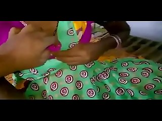 South indian village girl boobs play show and milking