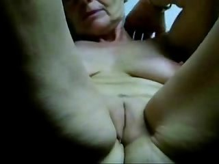 Masturbating slut granny untill orgasm period amateur older