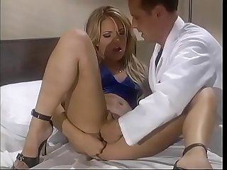 Smart blonde babe Teagan Presley dished up some excuse or other to visit her boyfriend working as..