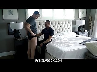 FamilyDick - Pervy Stepdad Fucks His Boy In A Jockstrap