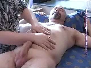 Massage and blowjob