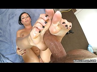 Rachel starr and her pretty little feet will turn you on fj9230