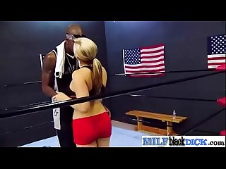 Interracial Sex With Big Black Cock In Horny Milf (dayna) video-12