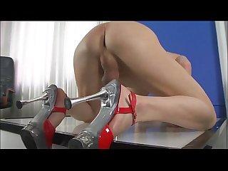 Shemale stripper eats her own cum