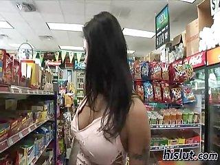 This slut has big boobs