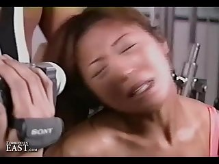 Uncensored japanese erotic fetish sex gym bondage 17 pt 1