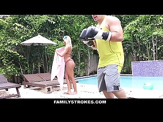 Familystrokes hot step sis can t resist fucking bro
