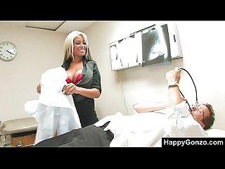 Bridgette b is amazing busty nurse
