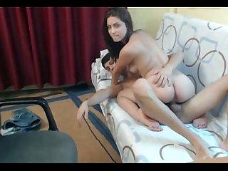 My girfriend fucking nice deep in pussy mi Novia Cogiendo Rico Duro y profundo