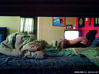 wife cums hard with vibrator on hidden cam