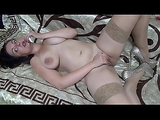 Pussy play with big nipples sucking joi