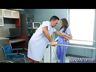 Hard sex tape with dirty doctor bang horny patient movie 29