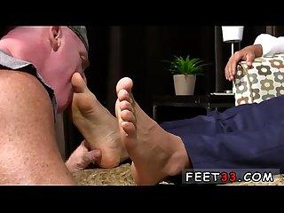 Foot fetish gay porn matthew S size 10 feet Worshiped