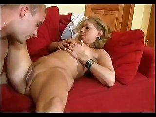 Koko czech mature woman with a young boy