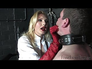 Off the wall part2 mistress akella femmefatalefilms face slapping
