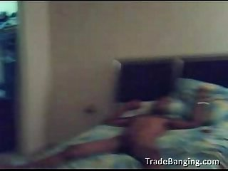 gay black couple fucking on bed