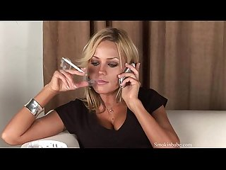 Marina - Smoking Fetish at Dragginladies