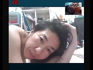 Toshiko uemura ugly old slut from saitama Japan fucks