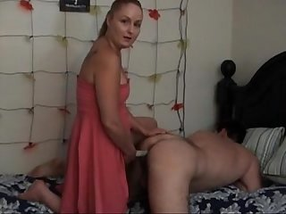 Wife fucks hubby with strapon www beeg18 com