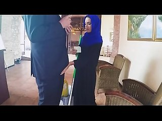 Timid Arab Gets On Her Knees And Sucks On Dat White Dick