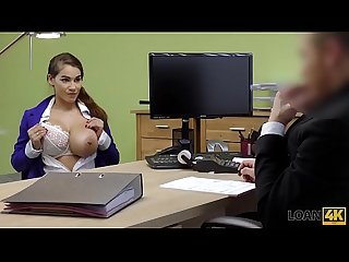 LOAN4K. Mischel Lee enjoys sex for cash with manager in his office