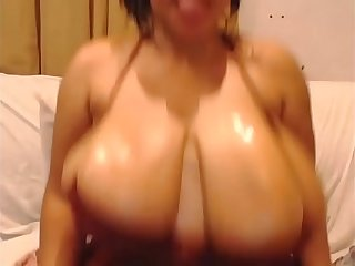 Sweetcherry076 Bouncing and teasing her big tits and ass