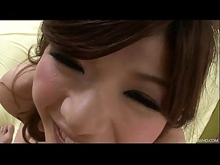 Sultry Japanese honey suzanna S pretty pussy fingered
