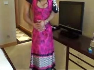 Horny Desi Aunty and uncle playing