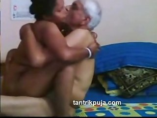 Desi Maid fucked by senior uncle