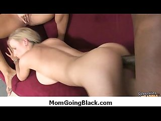 Hot MILF gags and gets banged by a black cock 28