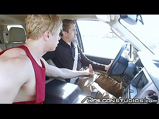 FalconStudios So What Ur Driving!! Let Me Suck Ur Cock, It�s Hot!!