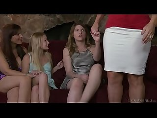 Virgin teen and her friend s mommy alura jenson scarlett fever