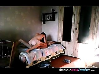 Asian couple sex in the morning