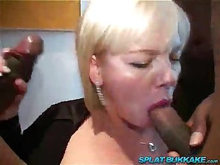 Milfsonly blogspot com blonde Milf Bbc anal gangbang
