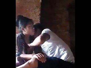 Myanmar young couple fucked when date in the Outdoor