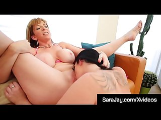 StrapOn Booty Sex With Sara Jay & Ryan Smiles Pussy Fucking!