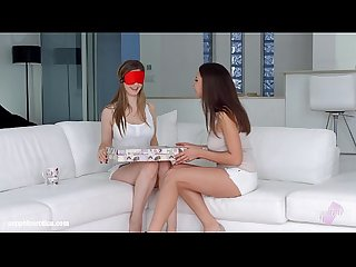 Henessy with Stella Cox doing lesbian sex on Sapphic Erotica