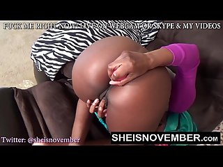 Fat booty slim slut msnovember wants ass worship fucking your face with butt