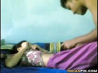 Horny indian college students having sex