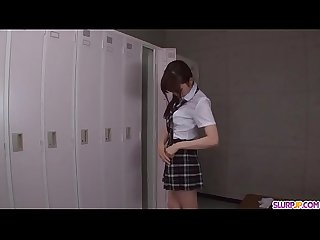 Moe sakura does blowjob and fucks at school more at slurpjp period com