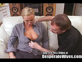 Tall wife gets fucked and spermed