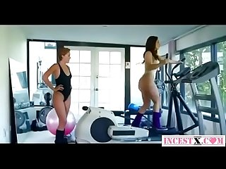 Mommy and daughter fucks in the gym s lobby more in incestx period com
