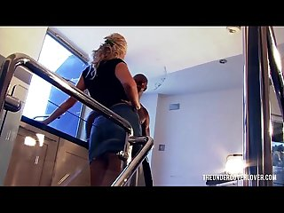 Bitchy milf landlady wants her rent