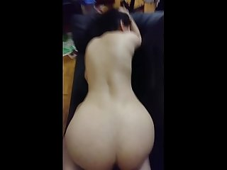 Pakistani indian housewife with big boobs fucked on couch screaming like whore