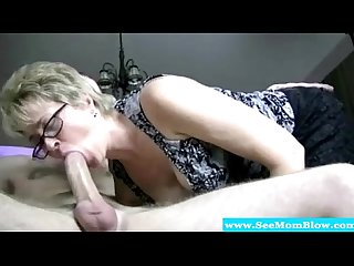 Spex mature feasting on his hard cock