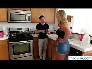PHILAVISE-New cock for the new stepmom with Rachael Cavalli
