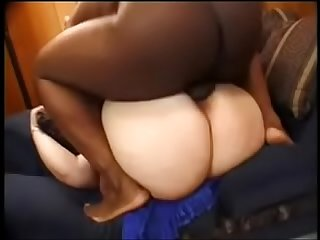 Latina bbw fucking a black guy