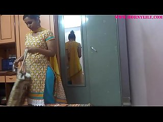 Indian babe lily spy cam roll play