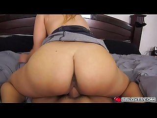 Hot mila marx bangs with stepbro for some cash